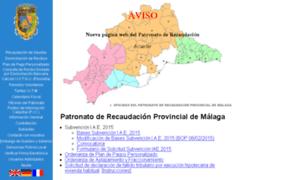 Patronato de recaudaci n provincial de m laga - Jefatura provincial trafico malaga ...