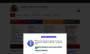 R mercantil madrid registro for Registro bienes muebles madrid